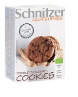 Bio Double Chocolate Cookies - glutenfrei