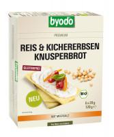 Reis & Kichererbsen Knusperbrot - glutenfrei