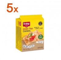 Sparpaket 5 x Crackers - glutenfrei