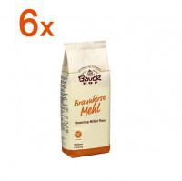 Sparpaket 6 x Braunhirsemehl - glutenfrei