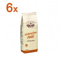 Sparpaket 6 x Kichererbsenmehl - glutenfrei