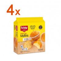 Sparpaket 4 x Muffins - glutenfrei