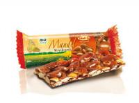 Bio Mandel Krokant Riegel - glutenfrei