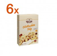 Sparpaket 6 x Obstkuchenteig - glutenfrei