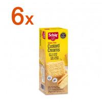 Sparpaket 6 x Custard Creams - glutenfrei