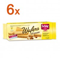 Sparpaket 6 x Wafers al cacao - glutenfrei