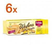 Sparpaket 6 x Wafers alla vaniglia - glutenfrei