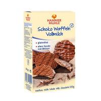 Schoko Waffeln Vollmilch - glutenfrei