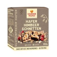 Hafer Himbeer Schnitten - glutenfrei