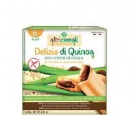 Quinoa-Kekse mit Kakaocremefüllung - glutenfrei