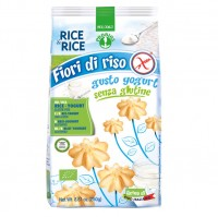 Reiskekse mit Joghurt - glutenfrei