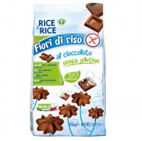Reiskekse mit Schokolade - glutenfrei