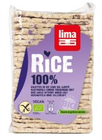 Dünne Vollkorn-Reiswaffeln ohne Salzzusatz - glutenfrei
