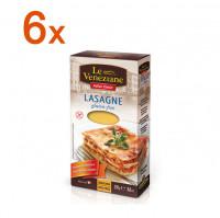 Sparpaket 6 x Le Veneziane Lasagne - glutenfrei