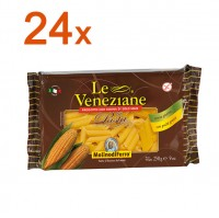 Sparpaket 24 x Le Veneziane Penne Rigate - glutenfrei