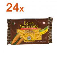 Sparpaket 24 x Le Veneziane Rigatoni - glutenfrei