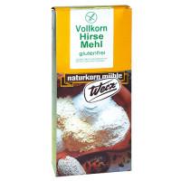 Vollkorn Hirse Mehl - glutenfrei