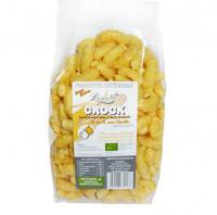 Bio Mais Flips mit Zwiebeln - glutenfrei