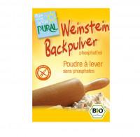 Weinstein Backpulver - glutenfrei