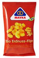 Bio Erdnuss Flips - glutenfrei