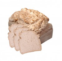 Teffbrot ohne Hefe frisch gebacken - glutenfrei