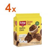 Sparpaket 4 x Muffins Choco - glutenfrei