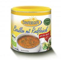 Bouillon mit Rindfleisch - glutenfrei