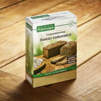 Fertigmehlmischung Vollkornbrot - glutenfrei