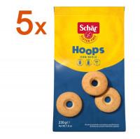 Sparpaket 5 x Hoops Mürbeteigkekse - glutenfrei