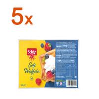 Sparpaket 5 x Soft Waffeln - glutenfrei