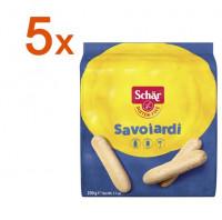 Sparpaket 5 x Savoiardi neue Rezeptur! - glutenfrei