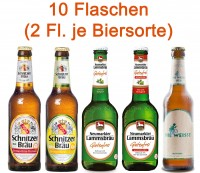 Glutenfreies Bier Testpaket 5 x 2 Flaschen