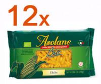 Sparpaket 12 x Le Asolane Eliche Bio - glutenfrei