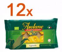 Sparpaket 12 x Le Asolane Tagliatelle Bio - glutenfrei
