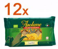 Sparpaket 12 x Le Asolane Capellini Bio - glutenfrei