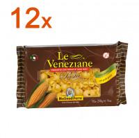 Sparpaket 12 x Le Veneziane Pipe Rigate - glutenfrei