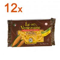 Sparpaket 12 x Le Veneziane Rigatoni - glutenfrei