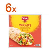 Sparpaket 6x Wraps - glutenfrei