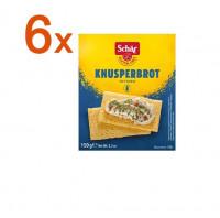 Sparpaket 6 x Knusperbrot Fette Croccanti - glutenfrei