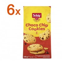Sparpaket 6 x Choco Chip Cookies - glutenfrei