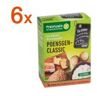 Sparpaket 6 x Poensgen Classic - glutenfrei