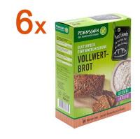 Sparpaket 6 x Fertigmehlmischung Vollwertbrot - glutenfrei