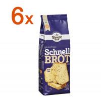 Sparpaket 6x Glutenfreies Schnell Brot hell - glutenfrei
