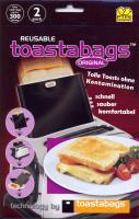 Toastabags black Original 2 Stück - glutenfrei