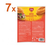 Sparpaket 7 x Mini Baguette - glutenfrei