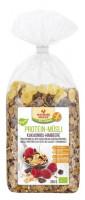Bio Protein-Müsli Kakaonibs-Himbeere - glutenfrei