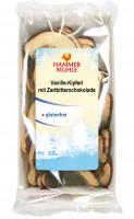 Vanille-Kipferl mit Zartbitterschokolade - glutenfrei