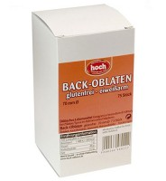 Oblaten glutenfrei 70mm
