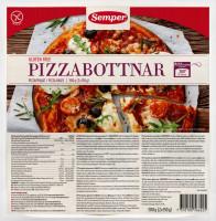 MHD*** 12.10.18 Pizzabottnar Pizzaboden vorgebacken 2 Stück - glutenfrei