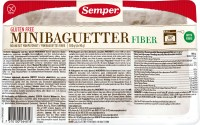 Fiber Mini-Baguetter - glutenfrei